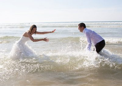 Beach Wedding Fun!