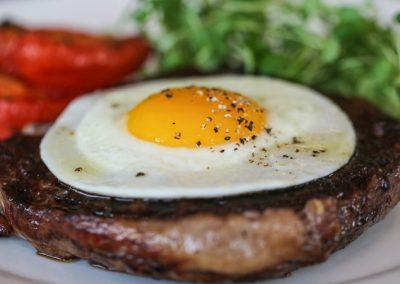 Steak Egg & Chips